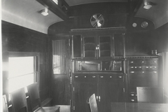 NMAH Archives CenterPullman Palace Car Company PhotographsAC1175Series 2Box 10Folder 59black and white photograph, interior private car #200 Norfolk & Western, Pullman Palace Car Company, 1914. Negative 16956.
