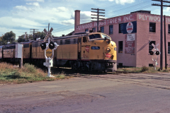MILW 32A westbound Cleveland Ave. St. Paul Train 55 1966-09-25 SRG Collection