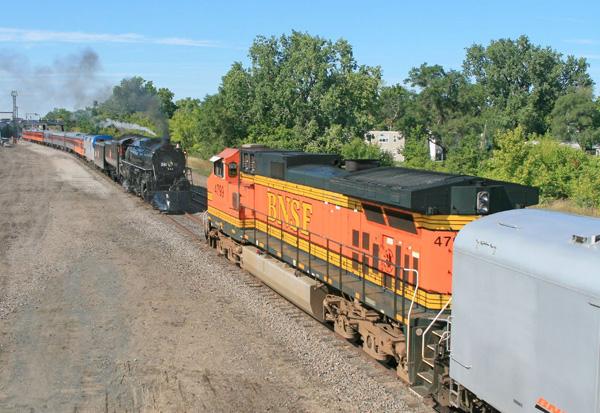 261 meets BNSF