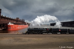 Milwaukee 261 at Duluth ore docks 1
